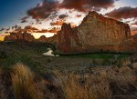 Smith Rocks Sunset