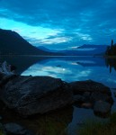 Moon Over Lake Wenatchee 2010